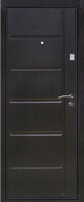 металлические двери венге мдф
